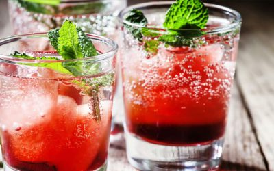 Strawberry Kiss met aardbeien en vodka